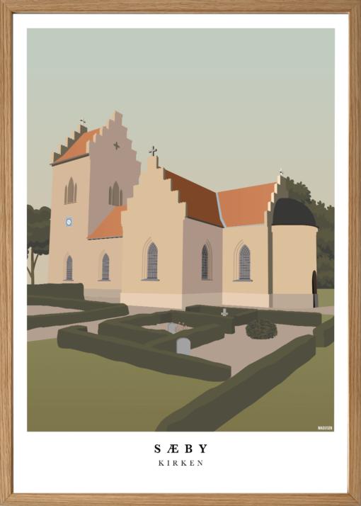Sæby Kirke Plakat